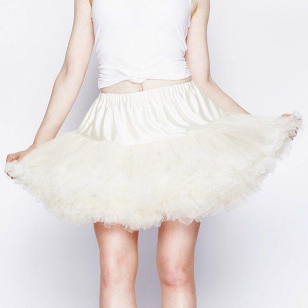 Tu Tu skirt Hell Bunny White