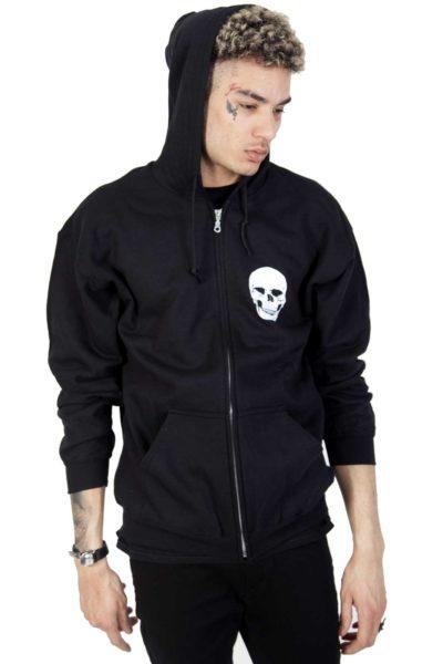 Zip hoodie Skull