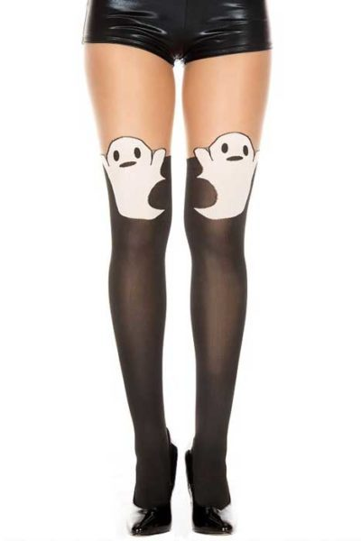 Ghost Print Tights