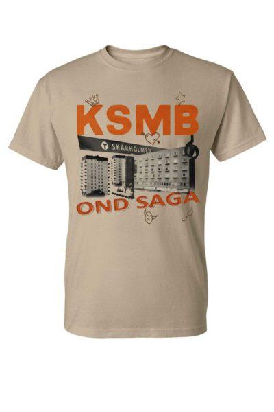 official merchandise tee ksmb ond saga