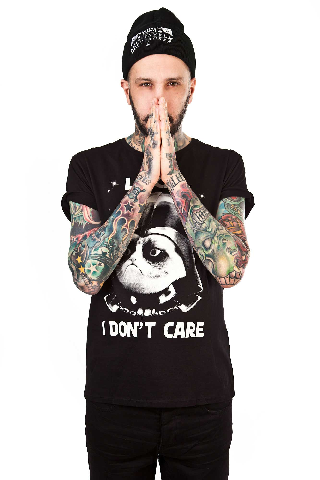 Luke I Don't Care Tee