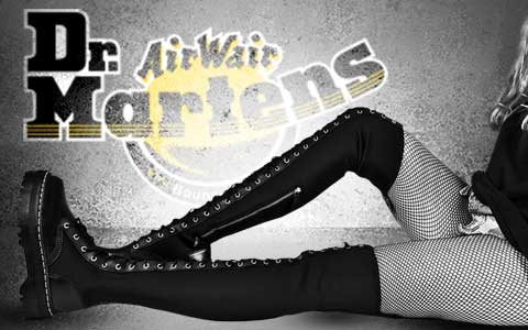Dr Martens Aggy Banner