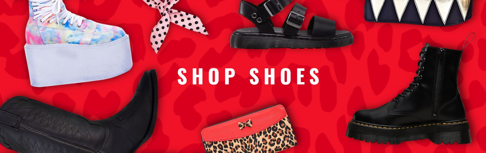 BUY sHOES ONLINE BANNER