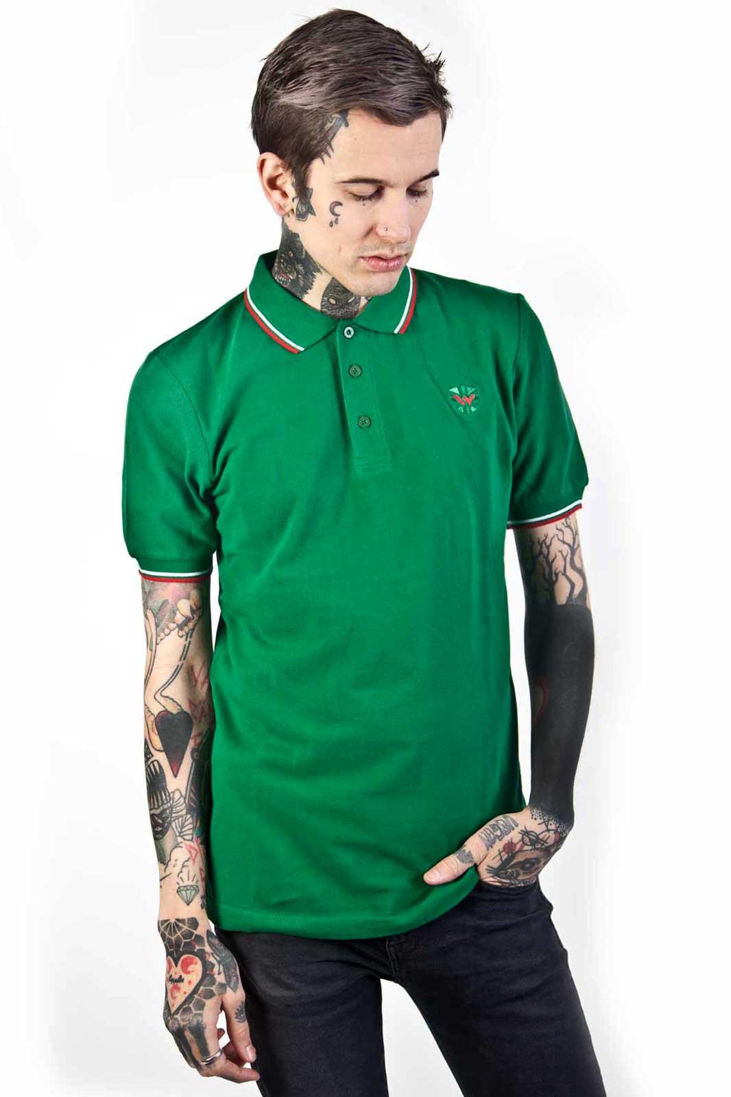 Soul 45 Polo Shirt Green