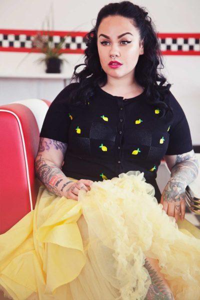 Yellow Skirt Rockabilly