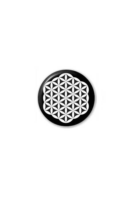 Flower Of Life Badge