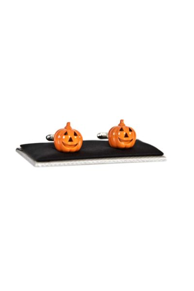 Cufflinks Pumpkin