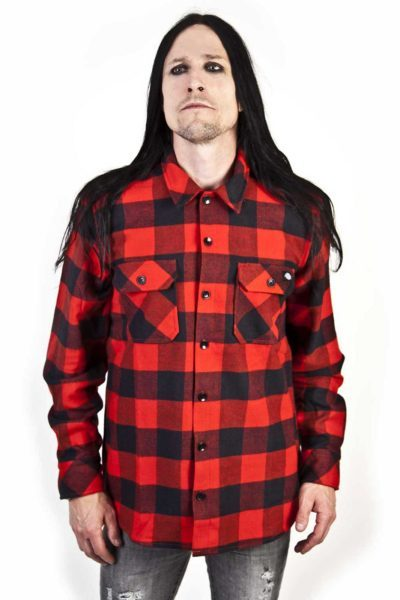 Boys Shirt Sacramento Red