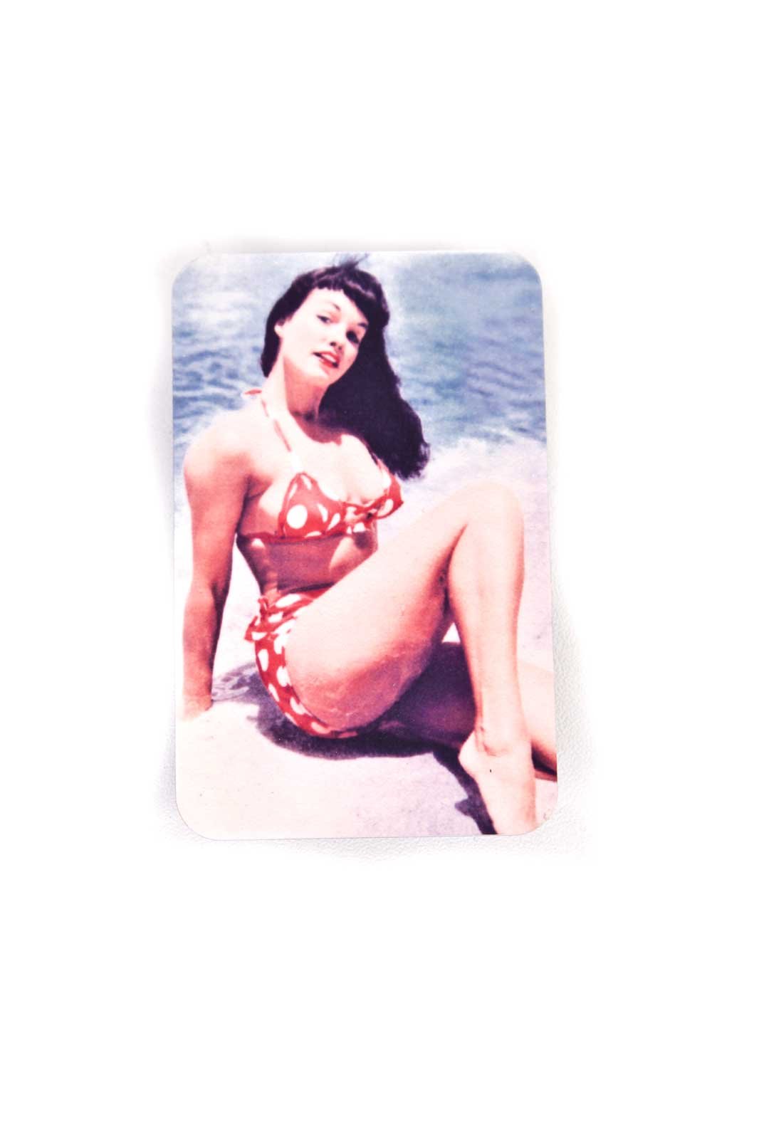 Magnet Bettie Page Polkadot