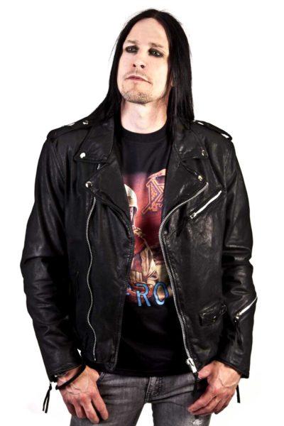Raw Leather Jacket