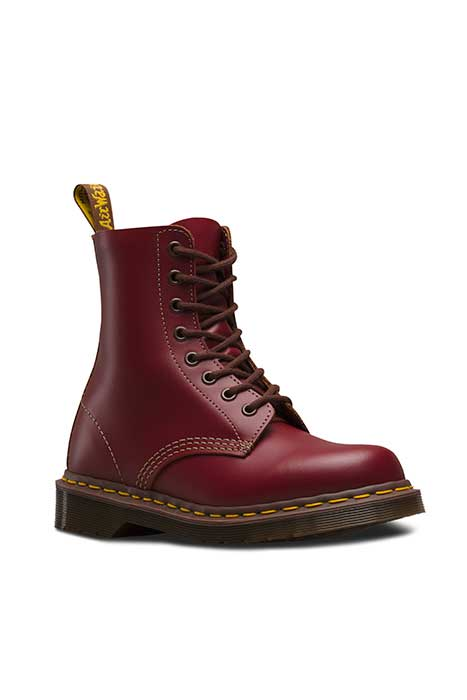 Made in England 1460 Vintage Oxblood Red