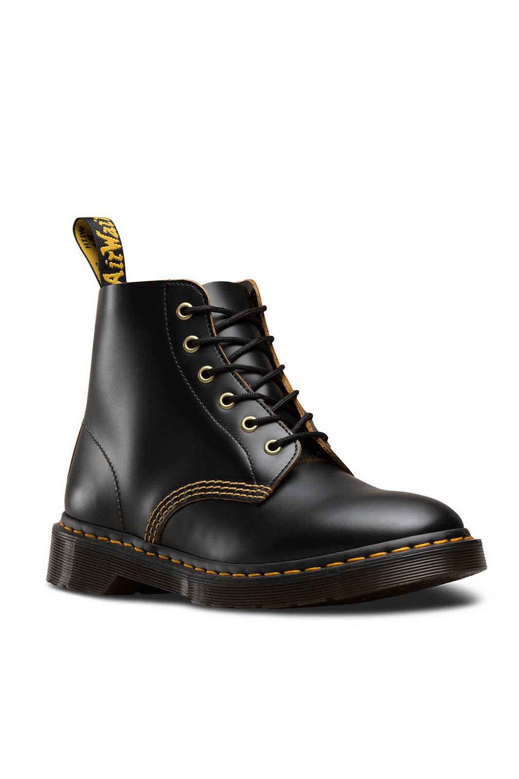 101 Arc 6-Eye Boot Black