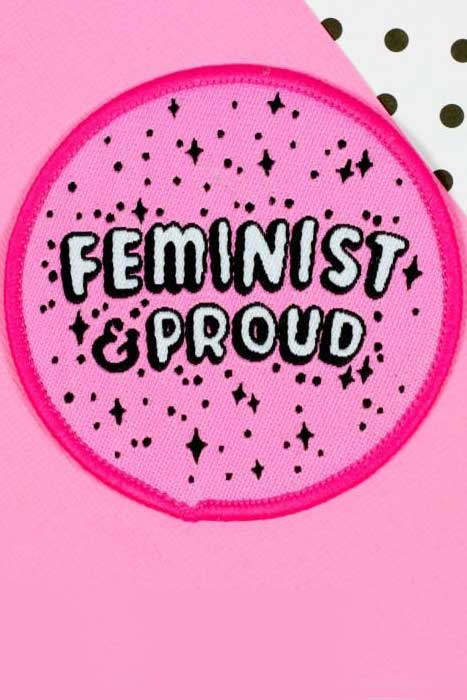 Feminist & Proud Patch