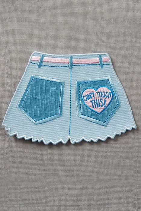 Hot Pants Can't Touch This Patch