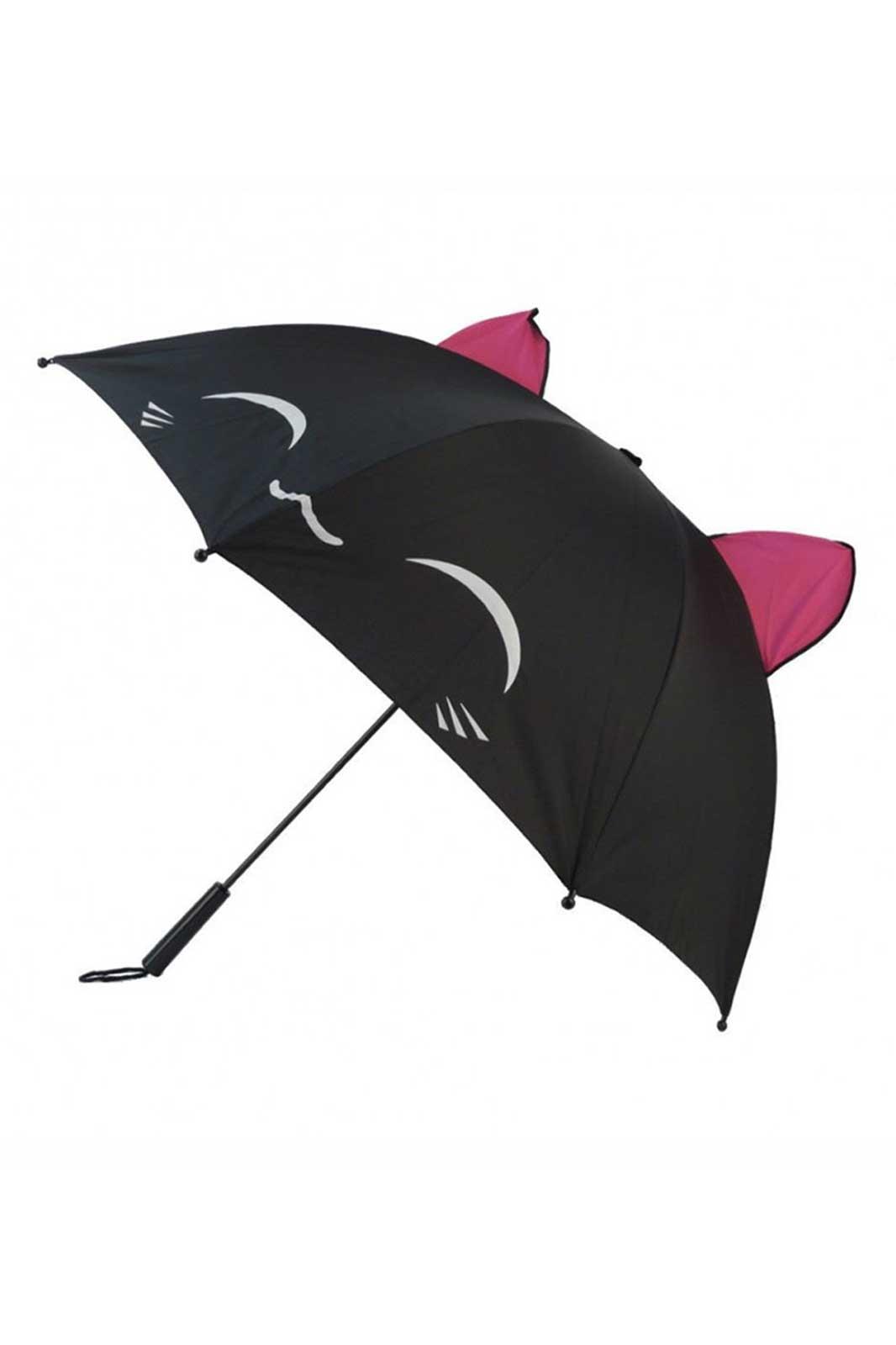 Kawaii Cat Umbrella Front