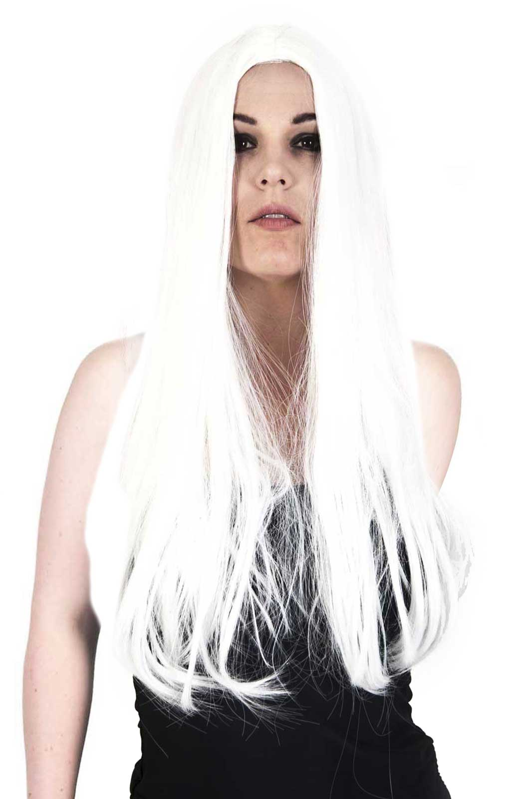 White Glamour Wig