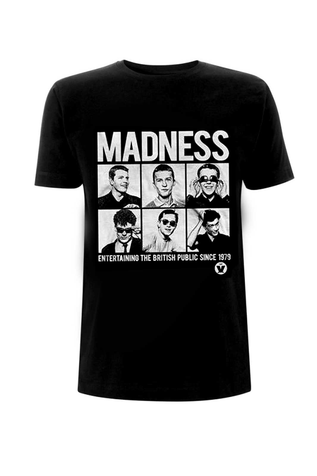 Madness Since 1979 Tee Black