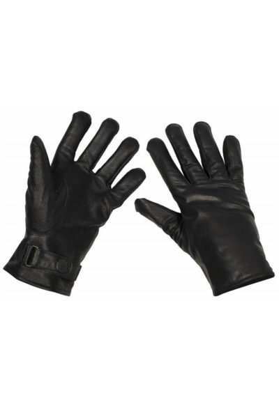BW Leather Gloves Black