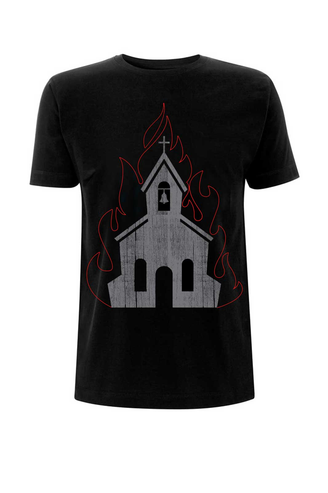 Burning Church Tee