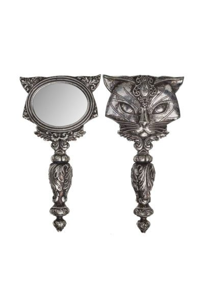 Cat Hand Mirror