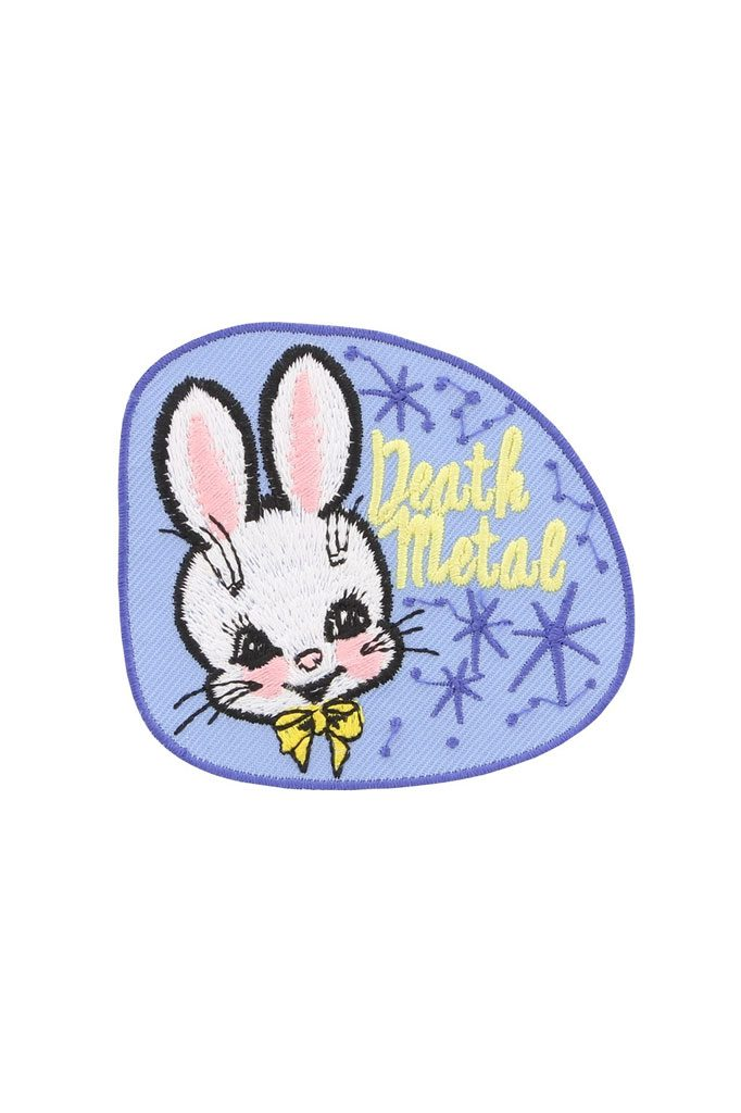 Death Metal Bunny Patch