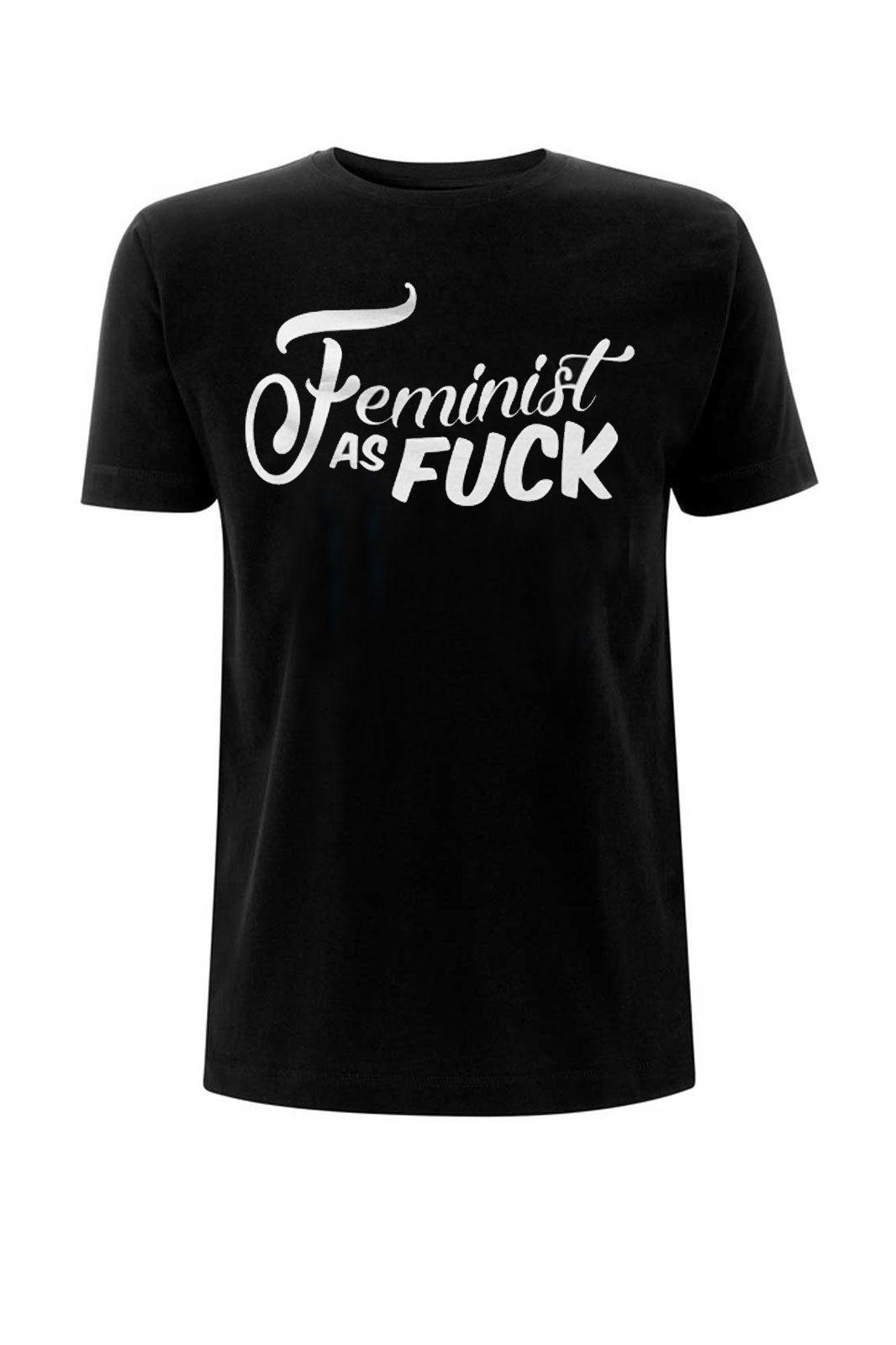 Feminist As Fuck Tee