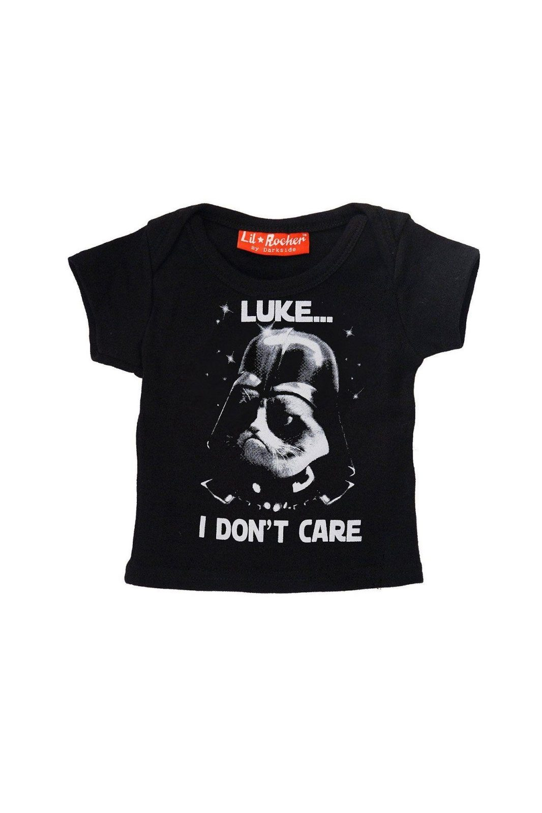Luke I Dont Care Baby Tee