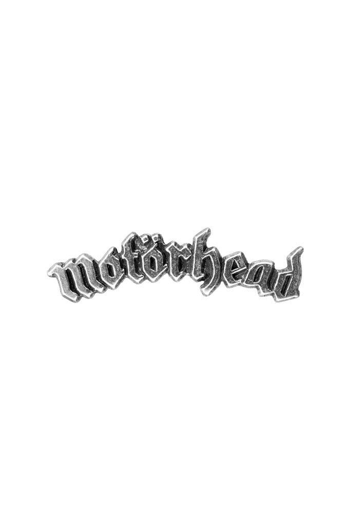 Pewter Pin Badge Motörhead Logo