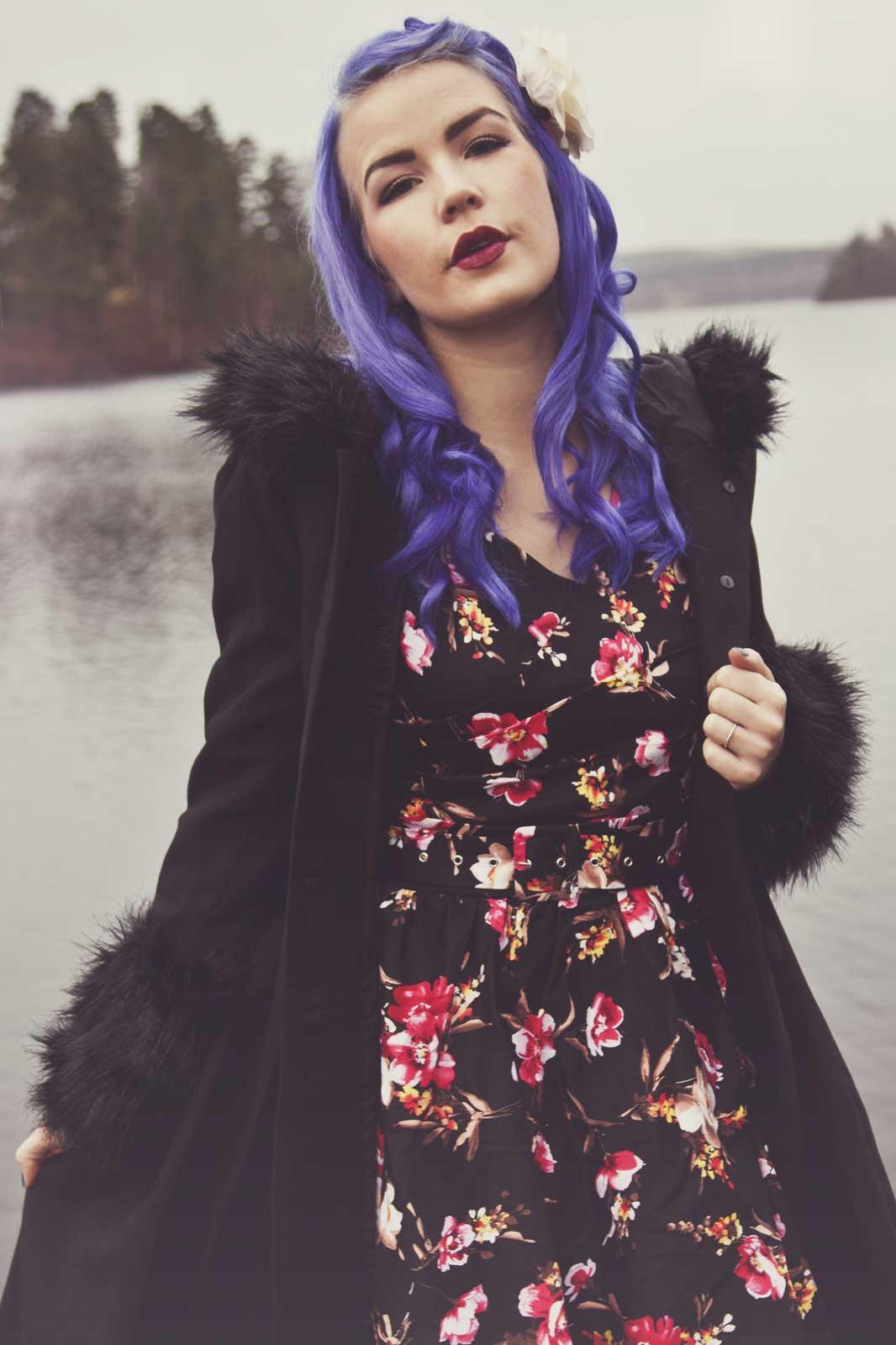 Rockabilly Flower Dress