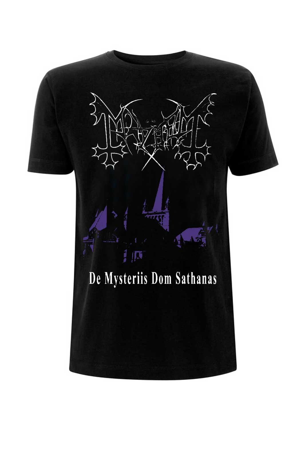Mayhem De Mysteriis Dom Sathanas Tee Front