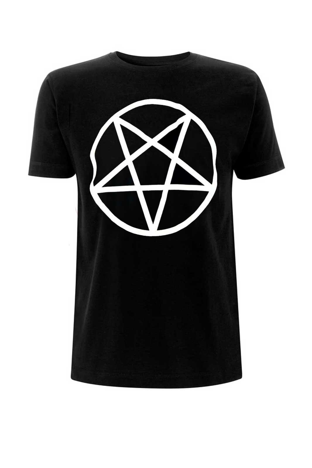 Pentagram Tee Black