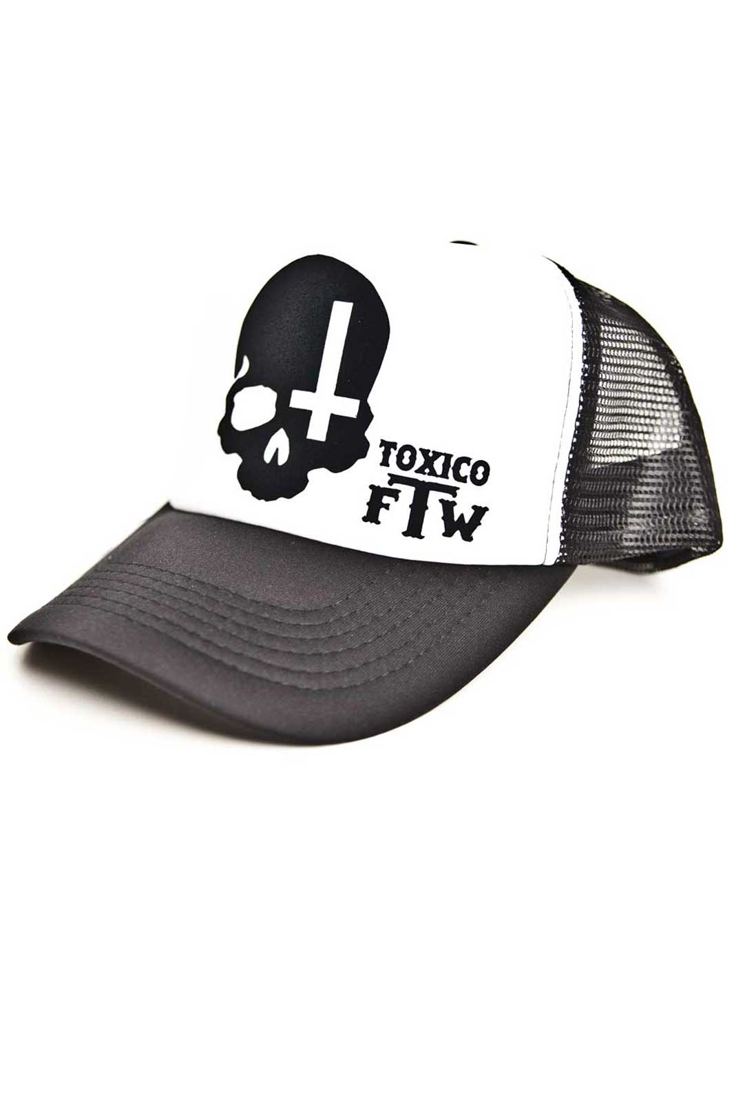 Skull Cross Trucker