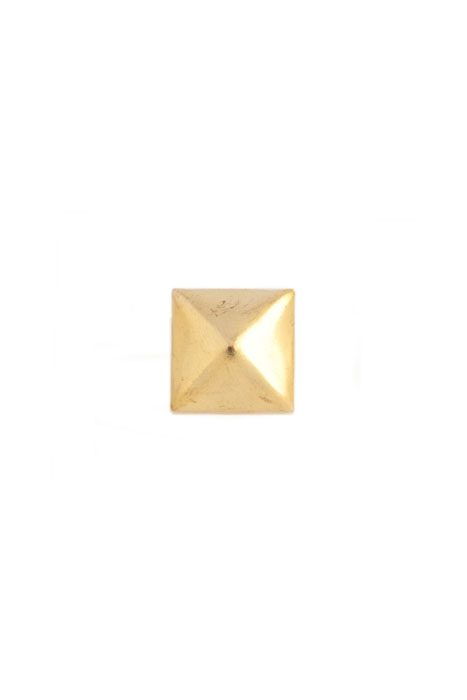 Gold Pyramid Stud Large