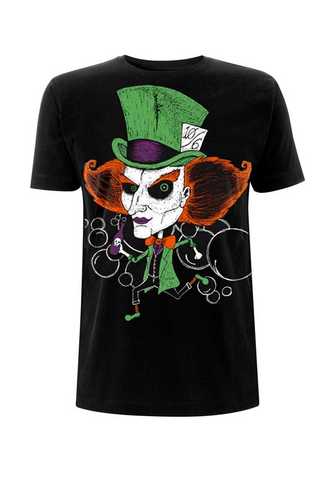 Mad Hatter Tee Black
