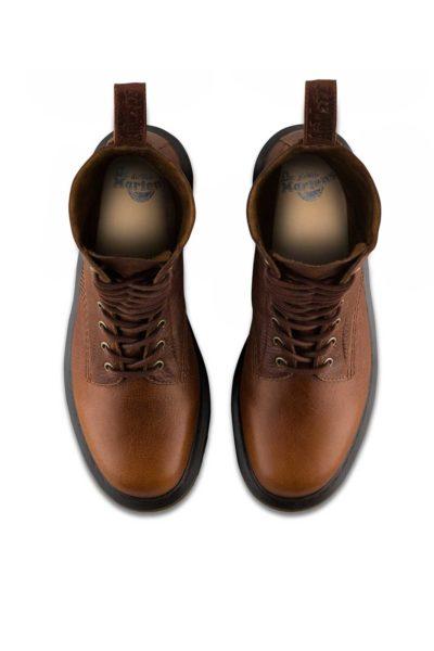 1490 10-Eye Boot Tan Brown Top - Dr Martens