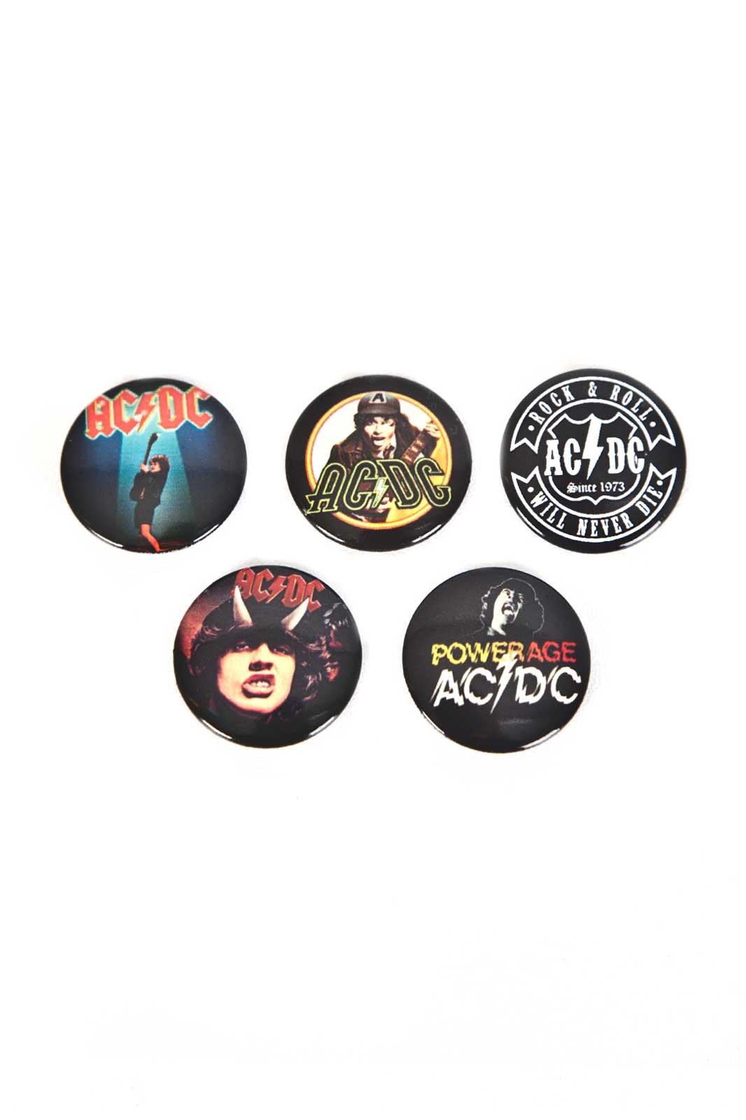 AC/DC Badge