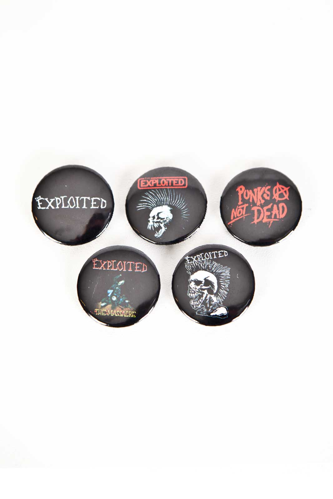 The Exploited Badge