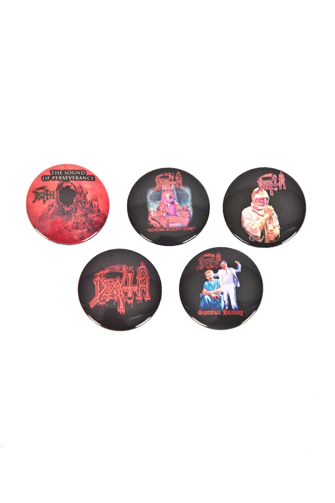 official merchandise death badge 5-pack