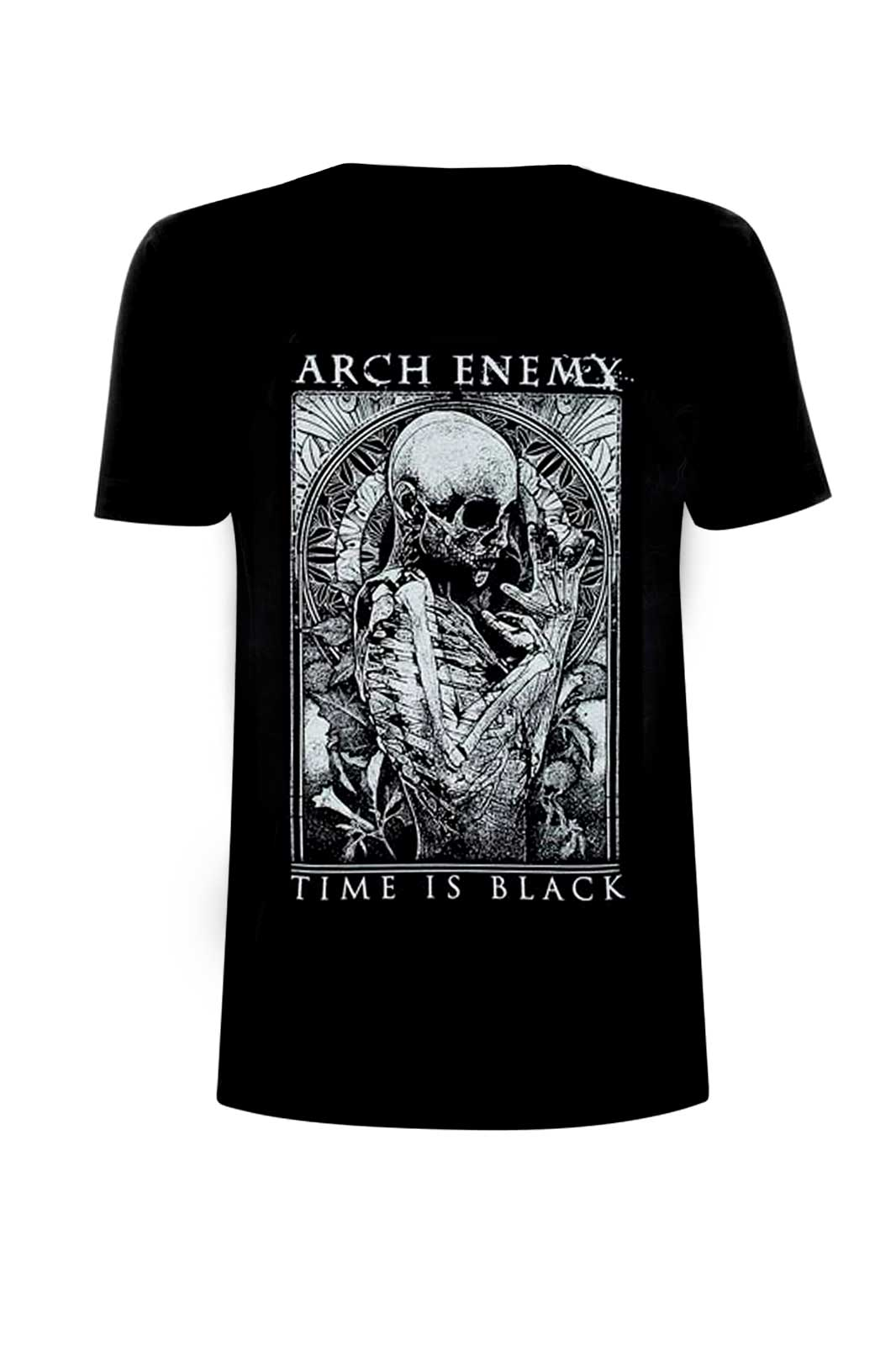 Arch Enemy Time is Black Tee Front