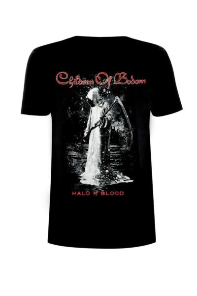 Children of Bodom Halo of Blood Tee Front