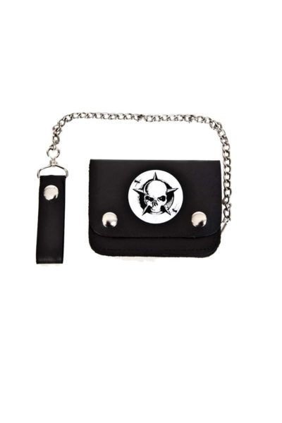 Shock Small Bi-Fold Wallet Black
