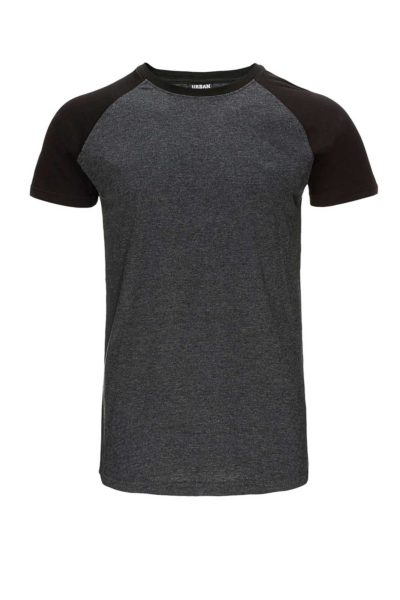 Shaped Raglan Tee Front - Urban Classics
