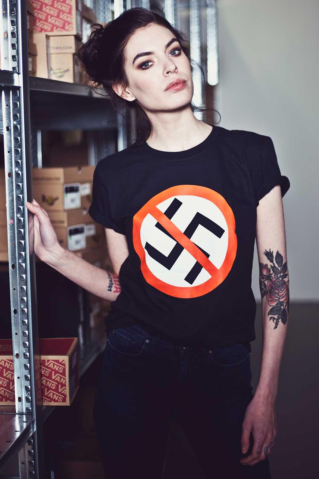 Anti Nazi Tee