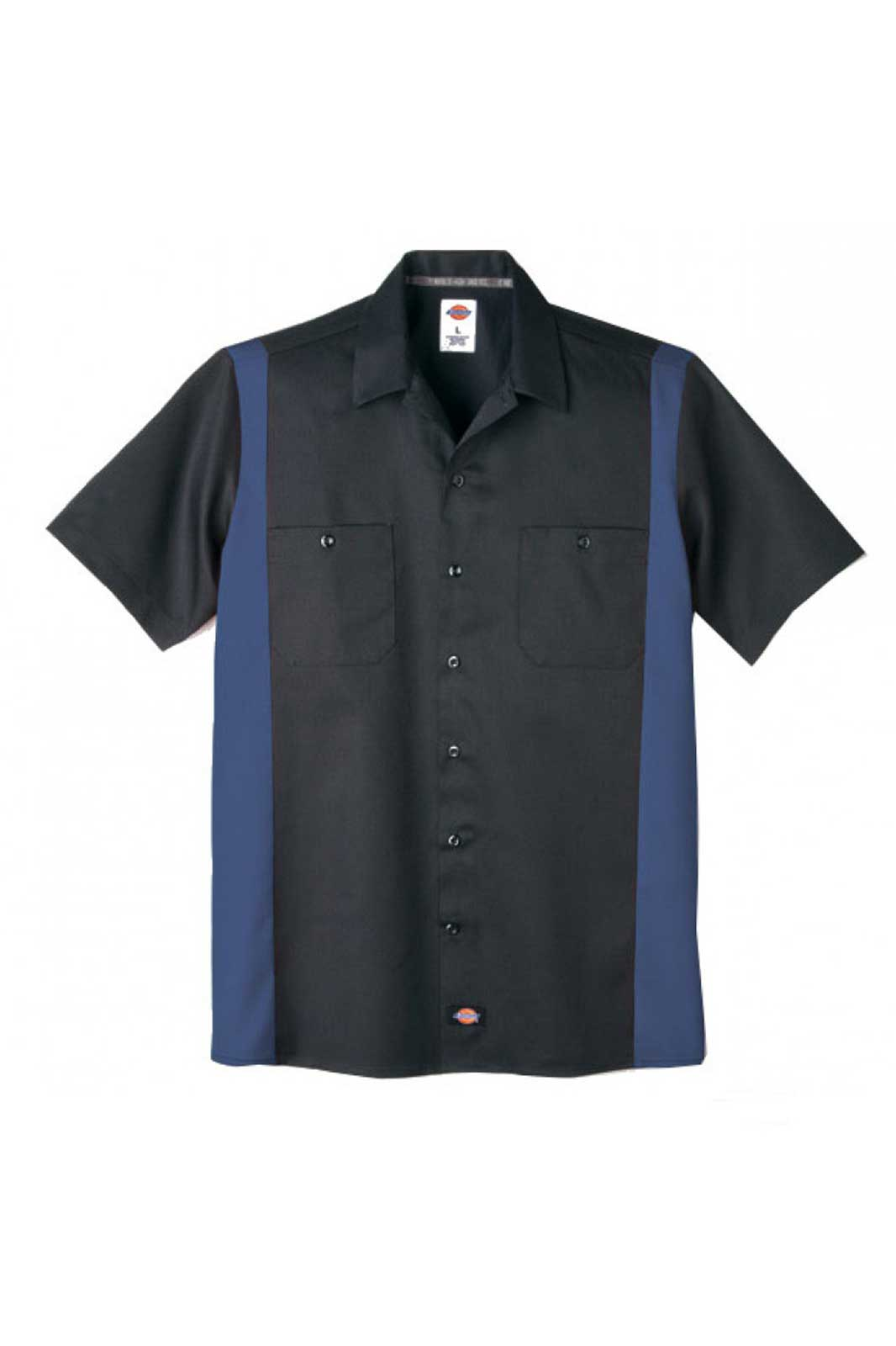 Dickies two tone work shirt blue