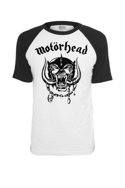 Raglan Tee Motörhead Everything Louder Front