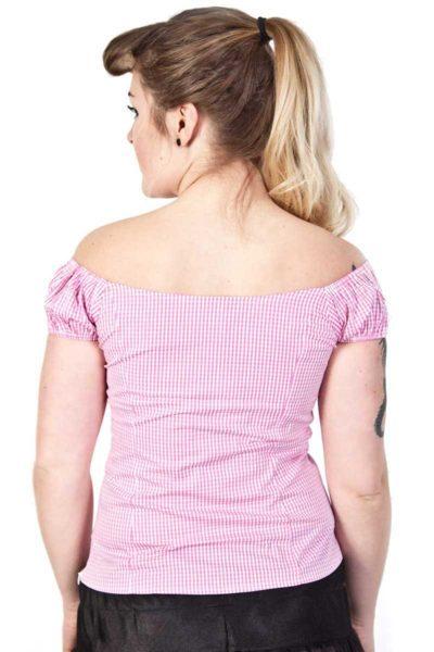 Summer Loving Top Pink bACK