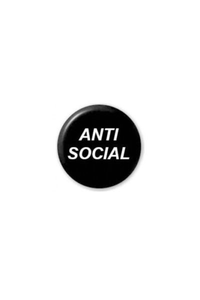 extreme largeness anti social badge