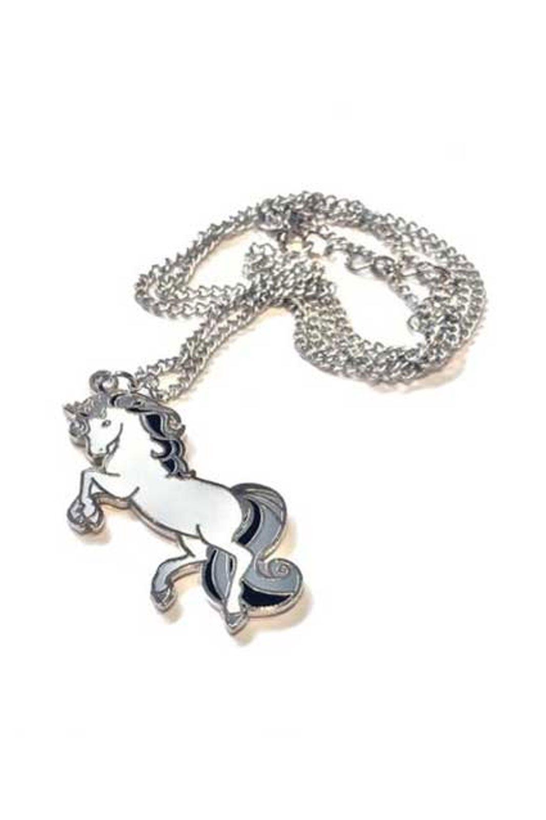 cosmic unicorn necklace