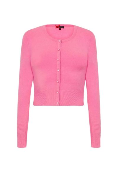 hell bunny paloma cardigan candy pink