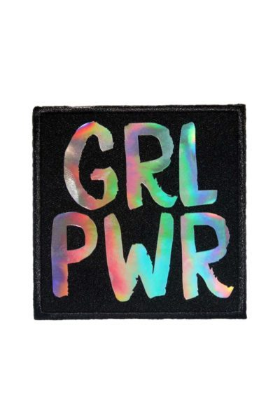 extreme largeness grl pwr holographic patch
